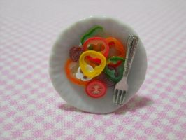 Salad Ring by MarzapanArt