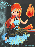 Alis HalloWinx by BrokenAmylee