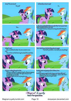 Magical Loyalty - New Perspectives Page 18 by WaveyWaves