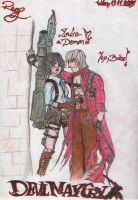 Lady and Dante by RockheadGirl