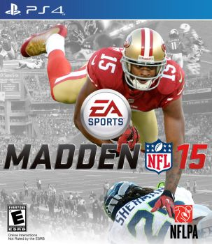 Madden15 PS4 Crabtree/Sherman by viznix