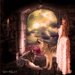 The Lair of the Wolf Girl by SilviaMS