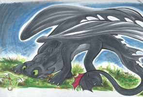 Toothless's Identity Crisis by Alexbee1236