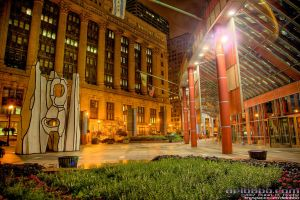 Chicago: State of Illinois by delobbo