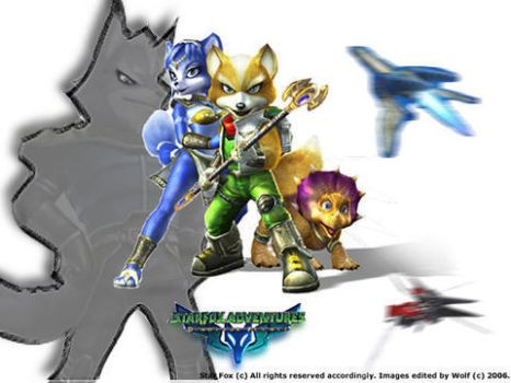Star Fox Wallpaper Project by wolvenclaw