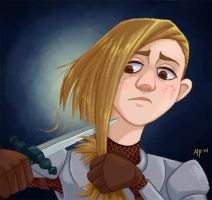 Joan of Arc by Savarama