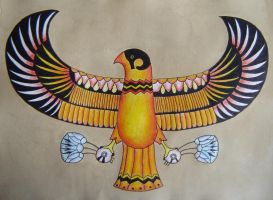 Horus - small version by ef-barber