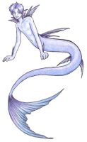 Kosui as a Merman by siya