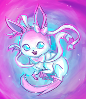 Sylveon by urealistisk