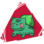 #001- Bulbasaur by MaxWIllustration