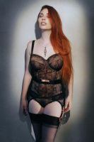Lingerie Noir- Roswell Ivory by Roswell-Ivory