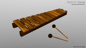 X for Xylophone - Blender Month by Matou31