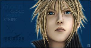 Cloud Strife by sbel02