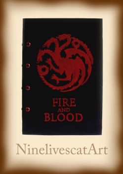 Game of Thrones Notebook by NinelivescatArt
