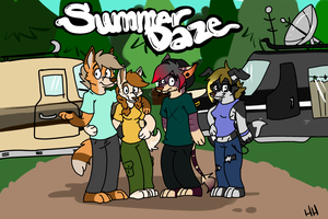 Summer Daze- Comic Kick Start by Kittyhawkman