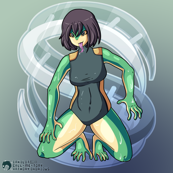 Agent Croaker by RetroInk