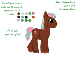 MLP Adoptable 20 by HeatherTrelawney