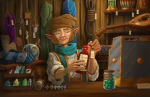 The Merchant by HarshRealities