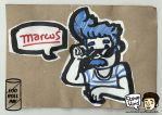 Marcus - Loo Roll Ink by bevebot
