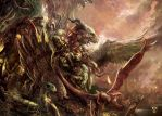 ITSART ARTORDER Dragons-IndiansFINAL BD by Yogh-Art