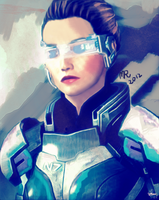 I Am Alive: FemShep by iria