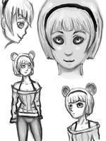 Sketchpage: Mouse Girl by codeobsidian