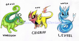 My Starter Pokemon by Fly-Sky-High