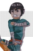 Rock Lee by Kiiree