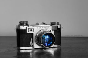 Zeiss Contax IIa by Project-Pestilence
