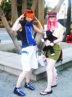 AX09: Shiki and Neku by Taymeho