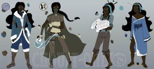 Shui studies 2 by Chouly-only