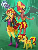 Equestria Girls Sunset Shimmer by uotapo