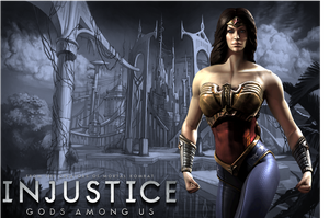 Injustice: Wonder Woman Wallpaper by NerdyOwl299