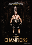 WWE Night Of Champions 2014 Poster by thetrans4med
