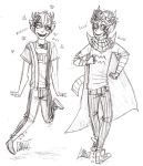 Trickster Sollux and Eridan by Nurbzwax