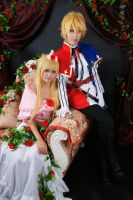 Rose Princess and her Prince by hardhk28