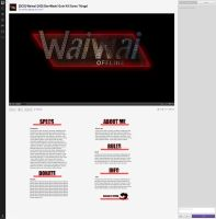 Waiwai Twitch Layout by sYpr0