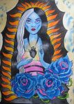 our lily of guadalupe by violet-grimm