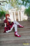 EGL Asuka - Dolled up in Red by MelfinaCosplay