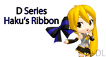 [MMD] D Series Haku's Ribbon +DL by Saza-kunn