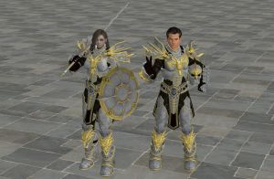 'TES4: Oblivion' Drake Knight Armor XPS ONLY!!! by lezisell