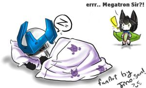 TF E: sleepy Megatron X3 by JinoSan