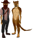 western thylacine by H1D1NG