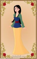 Mulan by monsterhighlover3