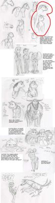 06.5 Shadowjack Recap Comic, preliminary sketches by ourimaler