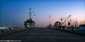 Williamstown pier by fusionx