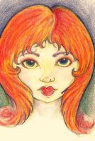 Red Head by zenobia