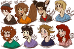 Achievement Hunter Hybrids by Tough-girl-freed