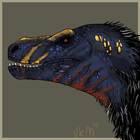 Saurian Rex by VerinenKukkaismuna