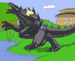 Messie Godzilla 9 by picklejuice13